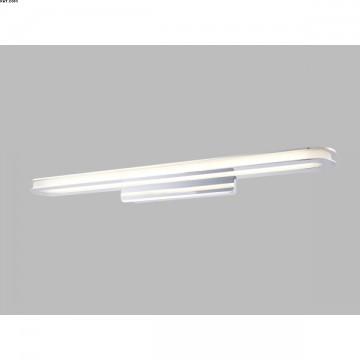 Applique 1 lumière chrome LED intégrées