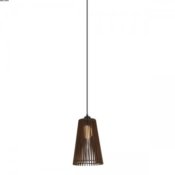 Suspension FOREST bois Marron D20