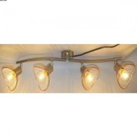 Plafonnier MATTHYS, Noir,  4 lumières