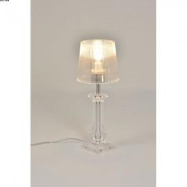 Lampe AMOURETTE, Transparente, 1 lumière, HT35cm