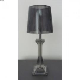 Lampe AMOURETTE,  Gris fumé, 1 lumière, HT35cm