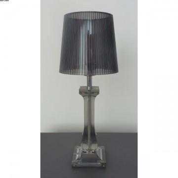 Lampe AMOURETTE Gris fuméHT35cm