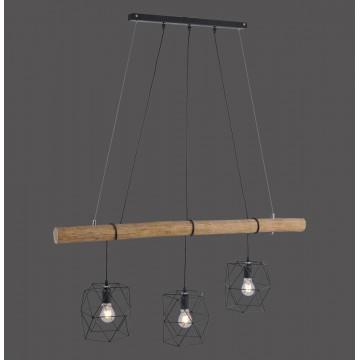 Suspension EDGAR trois lumières