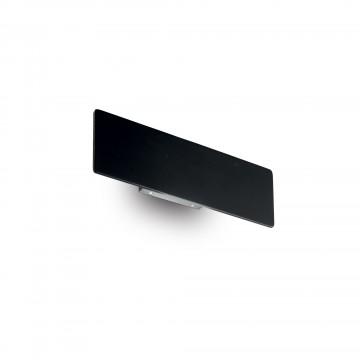 Applique ZIG ZAG LED Intégrées Noire