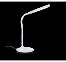 Lampe Tactile POLO Leds intégrées Blanche