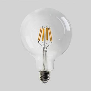 Ampoule GLOBE à LEDS FILAMENT, E27, 12W, 2700K