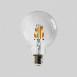 Ampoule GLOBE à LEDS FILAMENT, E27, 8W, 4000K