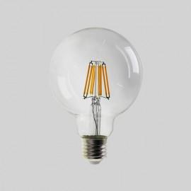 Ampoule GLOBE à LEDS FILAMENT, E27, 8W, 2700K