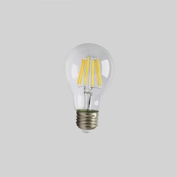 Ampoule Standard à LEDS à filament,  E27, 8W, 4000K