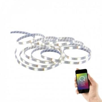 Bandeau LEDS Intégrées TEANIA , Blanc, RGB avec télécommande