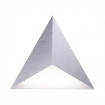 Applique connectée TETRA, Acier, LEDS Intégrées, satellite
