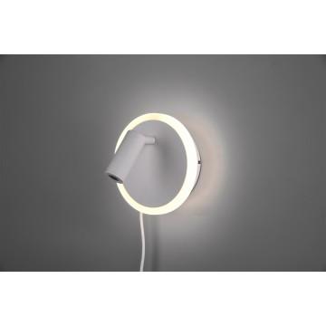 Applique JORDAN, Nickel Satiné, LEDS Intégrées