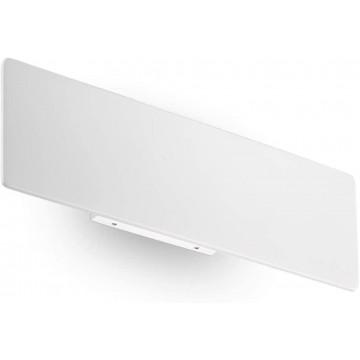 Applique ZIGZAG, Blanche, LEDS intégrées