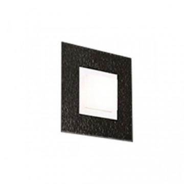 Applique BASIC, Noire Mat, 1 LEDS Intégrées