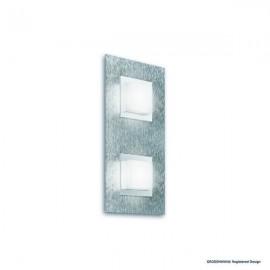 Applique BASIC, Aluminum Mat, 2 LEDS Intégrées