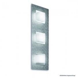 Applique BASIC, Aluminum Mat, 3 LEDS Intégrées