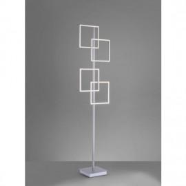 Lampadaire INIGO, Acier, 4 LEDS Intégrées