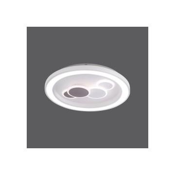 Plafonnier ELIZA, Blanc, LEDS Intégrées