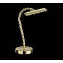 Lampe CURTIS, Laiton Mat, LEDS intégrées