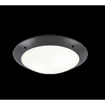 Plafonnier CAMARO, Anthrancite, 1 lumière, D26