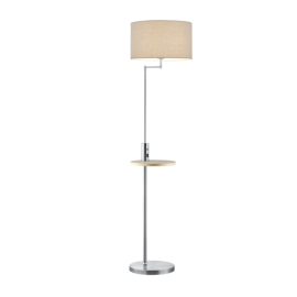 Lampadaire CLAAS, Nickel Mat, 1 lumière