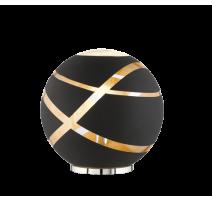 Lampe FARO, Noir et Or, 1 lumière, D30