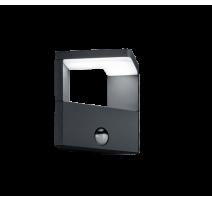 Applique GANGES, Anthracite, LEDS Intégrées, avec détecteur
