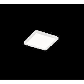 Plafonnier CAMILLUS, Blanc, LEDS Intégrées, Carré, 30cm