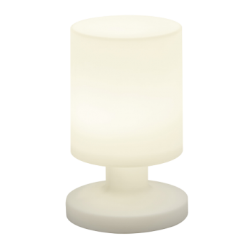 Lampe LORA, Blanc, LEDS Intégrées, Rechargeable.