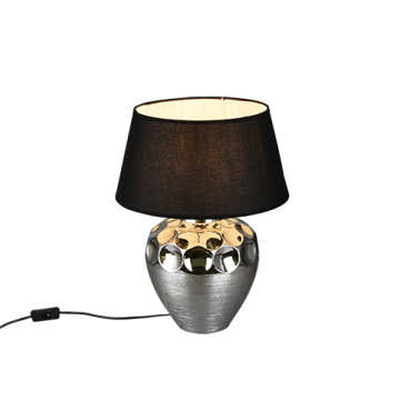 Lampe LUANDA, Argent, 1 lumière
