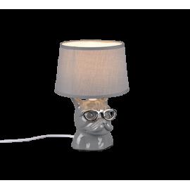 Lampe DOSY, Grise, 1 lumière