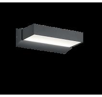 Applique CUANDO, Anthracite, LEDS Intégrées