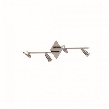 Réglette ALFA, Nickel Mat, 4 lumières