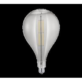 Ampoule TROPFEN à LEDS FILAMENT, FUMEE, E27, 8W, 2700K