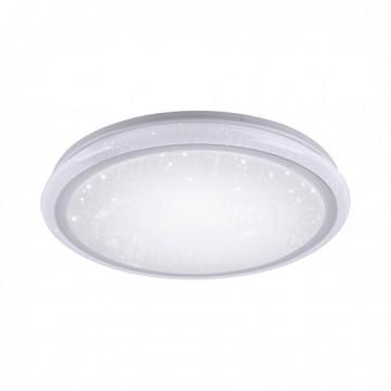 Plafonnier LUISA, Blanc, LEDS Intégrées.