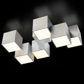 Plafonnier ROCKS, Aluminium, LEDS Intégrées