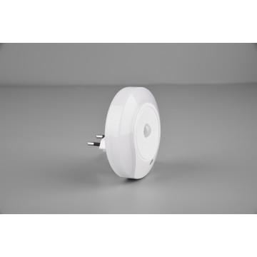 Applique veilleuse MARLIN, Blanc, LEDS intégrées