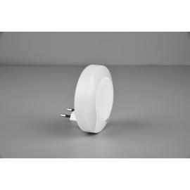 Applique veilleuse JAGO, Blanche, LEDS intégrées