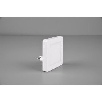 Applique veilleuse HANK, Blanche, LEDS intégrées