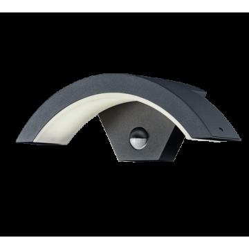 Applique OHIO, Antrahcite, LEDS Intégrées, avec détecteur