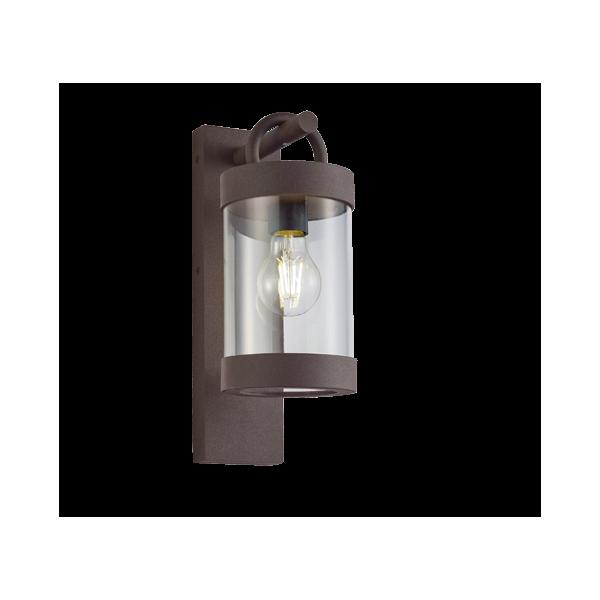 Applique SAMBESI, Rouille, détecteur de crépuscule, 1 lumière.
