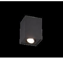 Plafonnier BISCUIT, Noir, 1 lumière.