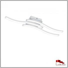 Plafonnier ROUTE, Blanc Mat, LEDS Intégrées