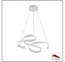 Suspension FRANCIS, Blanche, LEDS Intégrées