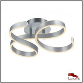 Plafonnier FRANCIS, Aluminium, LEDS intégrées.