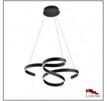 Suspension FRANCIS, Anthracite, LEDS Intégrées