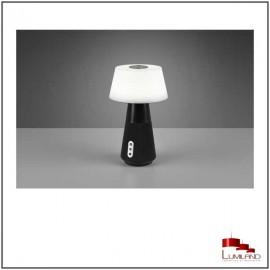 Lampe à poser DJ, Noire, Leds intégrées, Bluetooth, CCT