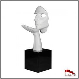 Statue SPERANZA, Blanc