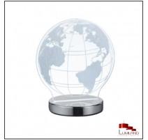 Lampe GLOBE, Chrome, LEDS intégrées RGB
