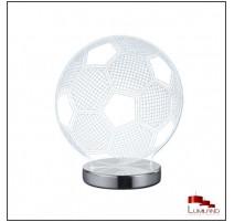 Lampe BALL, Chrome, LEDS intégrées RGB